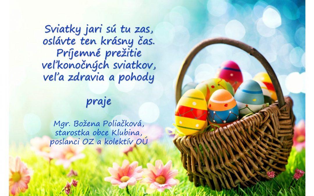 Veselú Veľkú noc :)